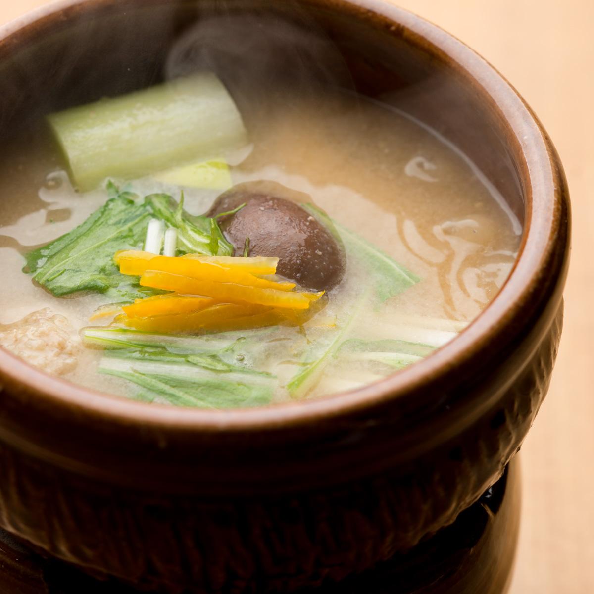 煮物|鰤と冬野菜の小鍋仕立て
